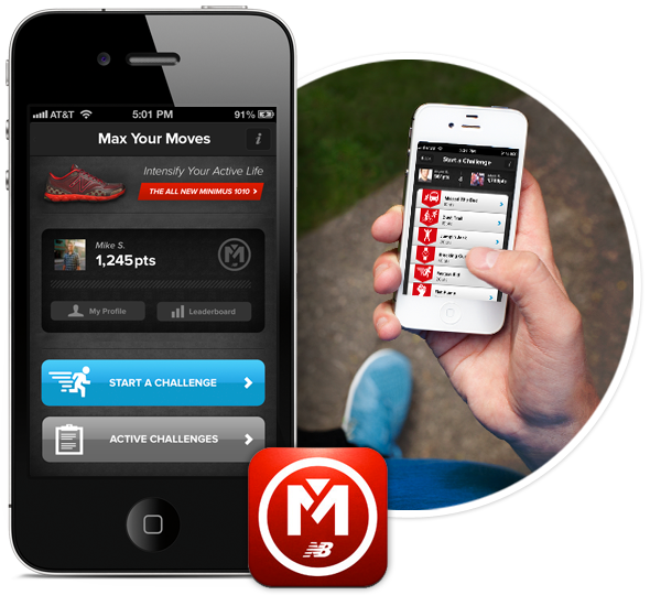 The Max Your Moves iPhone Application by Mike Scopino